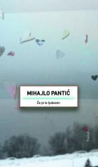 Mihajlo Pantić: Če je to ljubezen
