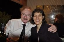 Knut Odegard in Barbara Pogačnik