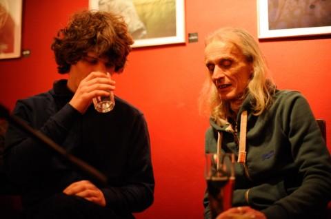 Mimoglasje - Gašper Torkar in Tone Škrjanec (foto: Borut Peterlin)
