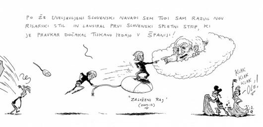 Izar Lunaček - Kratka zgodovina slovenskega stripa 19