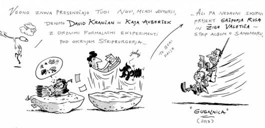Izar Lunaček - Kratka zgodovina slovenskega stripa 20