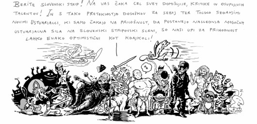 Izar Lunaček - Kratka zgodovina slovenskega stripa 23
