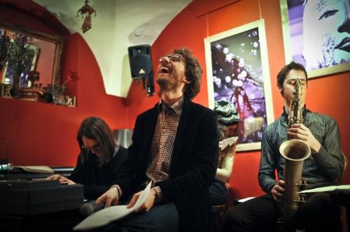 Mimoglasje: Andrej Hočevar, Boštjan Simon, Jan Kostanjevec (foto: Maj Pavček)
