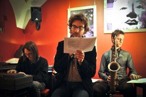 Mimoglasje: Andrej Hočevar, Jan Kostanjevec in Boštjan Simon (foto: Maj Pavček)