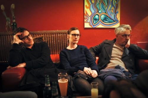 Mimoglasje: Gregor Podlogar, Urška Brodar, Damjan Ilić (foto: Maj Pavček)