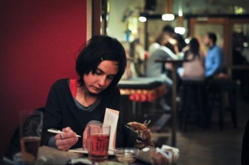 Mimoglasje: Ana Pepelnik (foto: Maj Pavček)