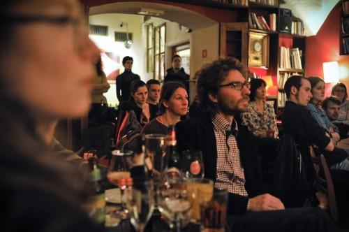 Mimoglasje: Andrej Hočevar, Katja Plut (foto: Maj Pavček)