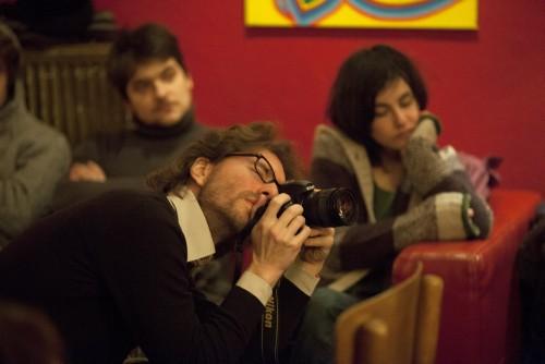 Mimoglasje: Andrej Hočevar, Mitja Drab, Ana Pepelnik (foto: Borut Krajnc)