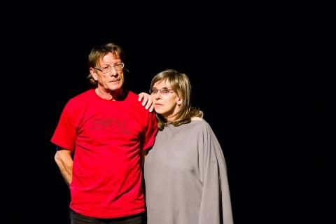 Svetlana Makarovič in Zlatko Kaučič, Horror Mundi (foto: Polona Eržen)
