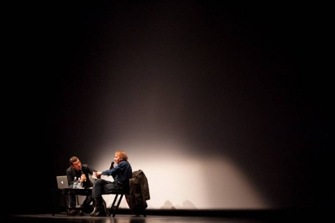 Michel Houellebecq (foto: Matej Pušnik)