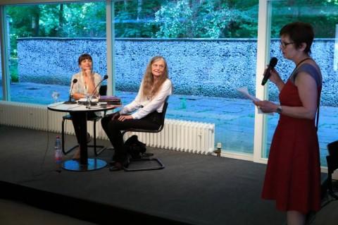 Uljana Wolf in Alice Notley (foto: © gezett - www.gezett.de)