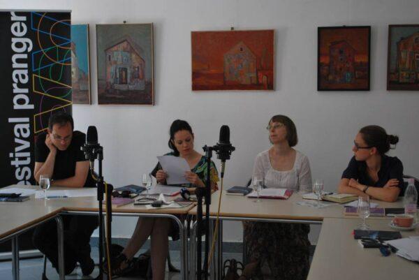 Marcello Potocco, Tanja Petrič, Lidija Gačnik Gombač inMaja Šučur (foto: arhiv Pranger)