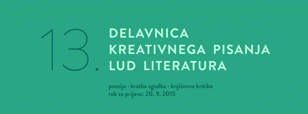 13. delavnica kreativnega pisanja