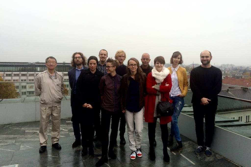 Umetnost kritike (Ming-Qian Ma, Andrej Hočevar, Tanja Petrič, Stafan Schmitzer, Mojca Pišek, Aljaž Koprivnikar, Maja Šučur, Matej Bogataj, Asja Bakić, Anja Radaljac, Ondřej Hanus)