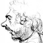 Tomaž Grušovnik (risba: Mirko Malle)