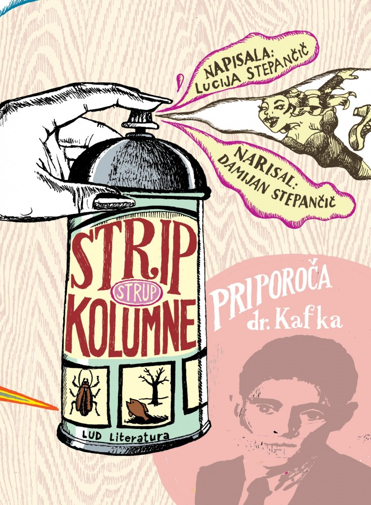 Lucija in Damijan Stepančič: Strip kolumne