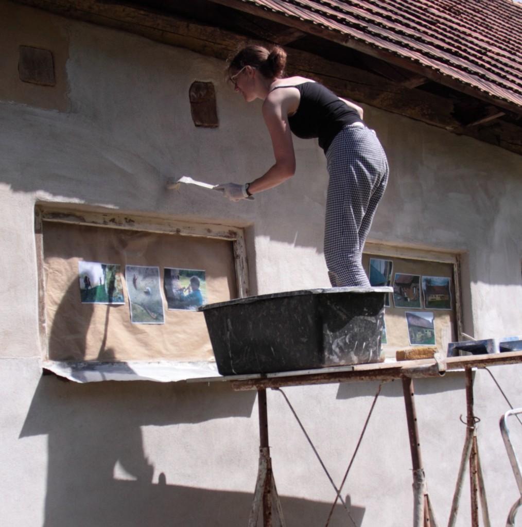 Obnova fasade (foto: osebni arhiv)