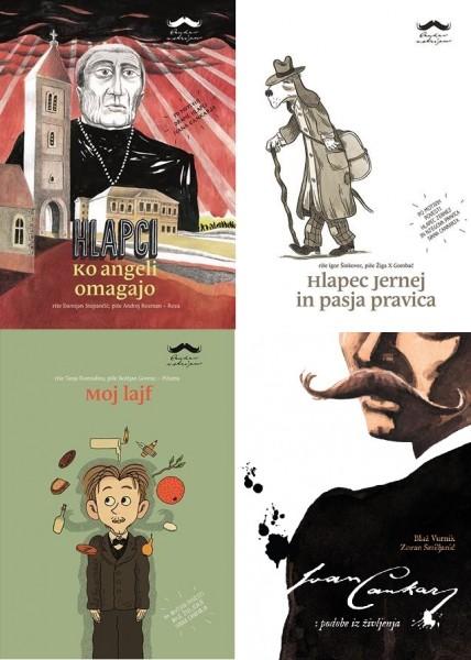 Štirje stripi (p)o Cankarju