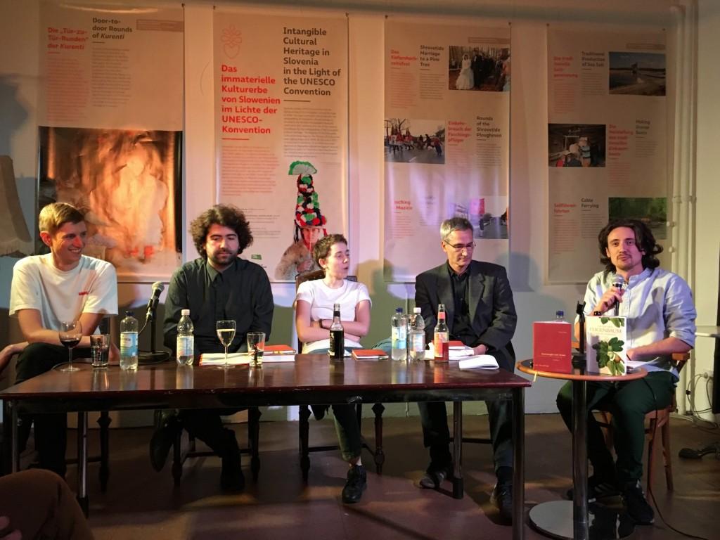 Kristoffer Patrick Cornils, Vincent Sauer, Sofie Lichtenstein, Jörg Plath, Jure Kapun