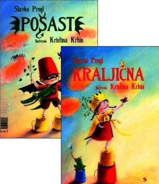 Slavko Pregl in Kristina Krhin, Kraljična/Pošast