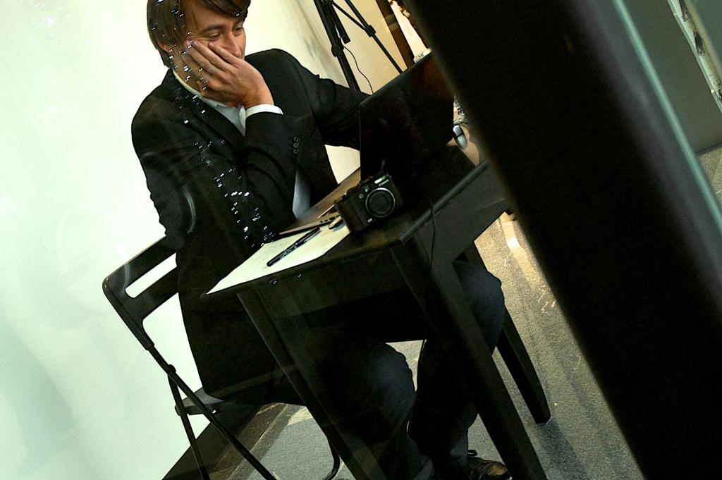 Aleš Šteger, Na kraju zapisano (foto: Andrej Hočevar)