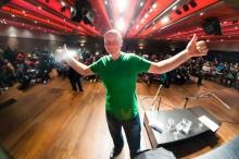 Irvine Welsh (foto: Matej Pušnik)