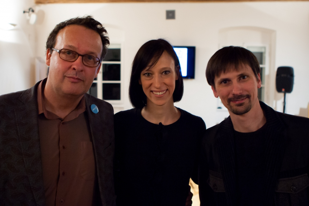 Andrej Blatnik, Tina Košir, Gašper Troha (foto: Matej Pušnik)