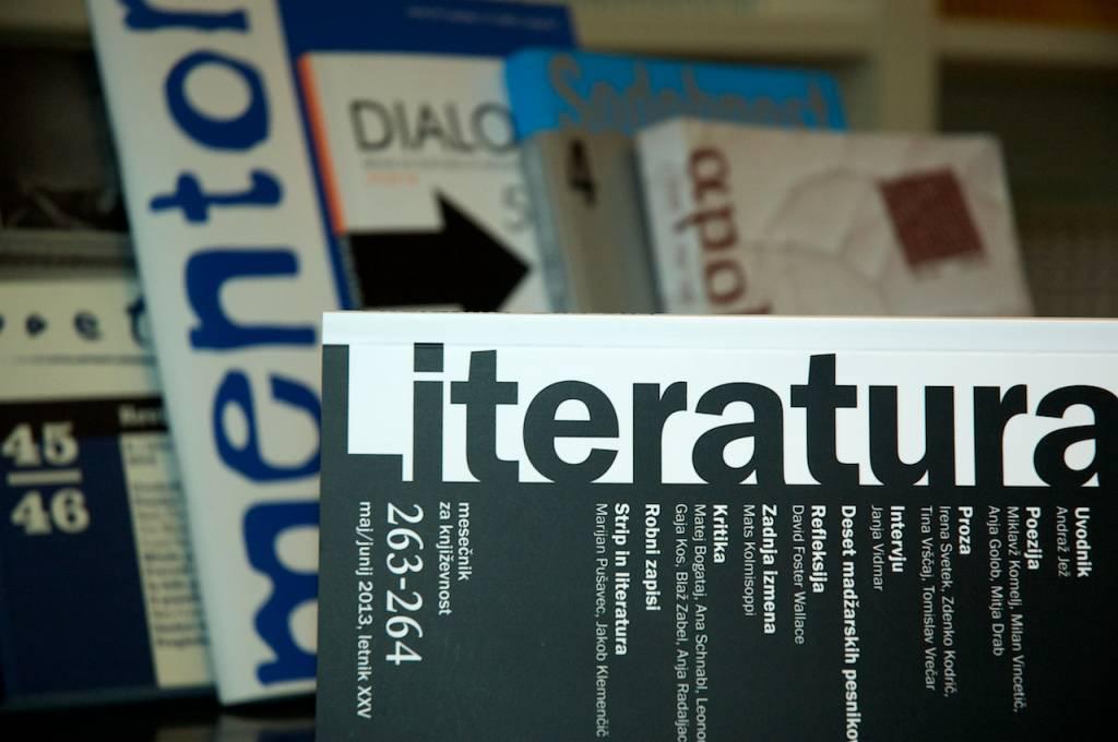 Literatura, Poetikon, Mentor, Dialogi, Sodobnost, Apokalipsa