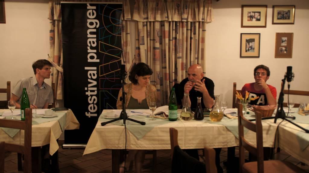 Pranger - Barbara Pogačnik, Zoran Pevec, Jernej Županič (foto: tina Štrancar)
